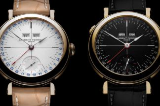 Laurent Ferrier, the Galet Annual Calendar School Piece Opaline Black and White