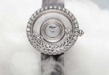 Chopard Happy Dreams 36mm in 18K White Gold and Diamonds