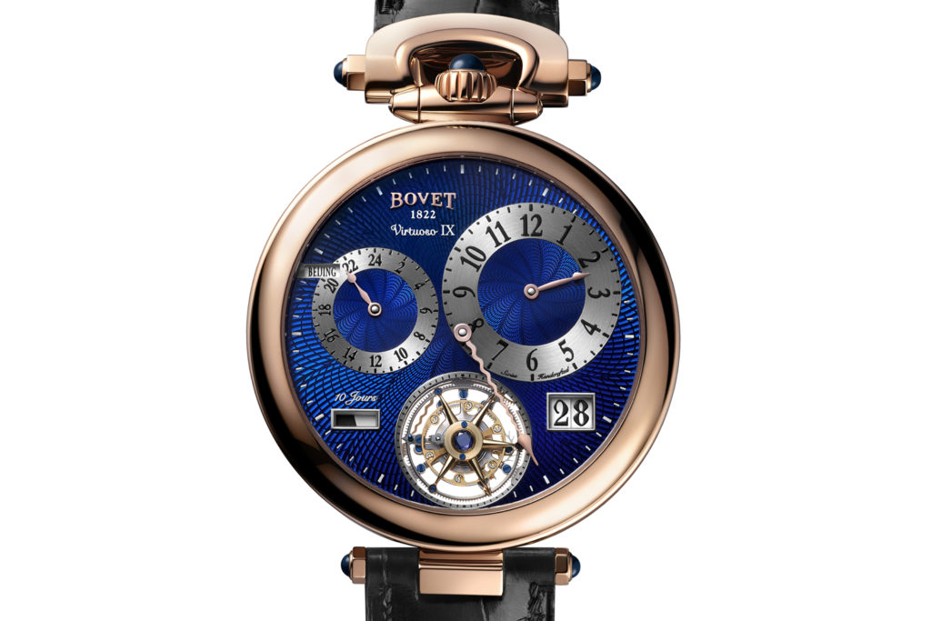Bovet Virtuoso IX: Double Time Zone 10-Day Power Reserve Big Date Flying Tourbillon