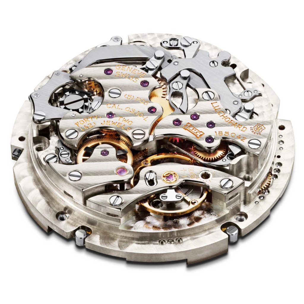 COSC-chronometer-certified L.U.C Calibre 3.10-L