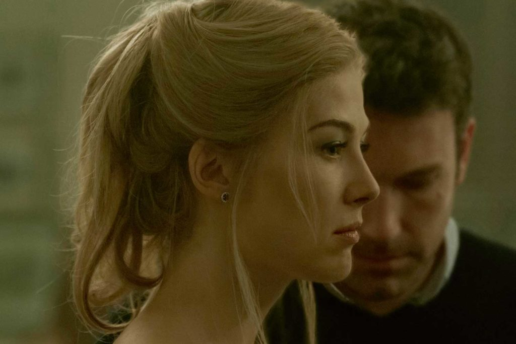 With Ben Affleck in Gone Girl (2014)
