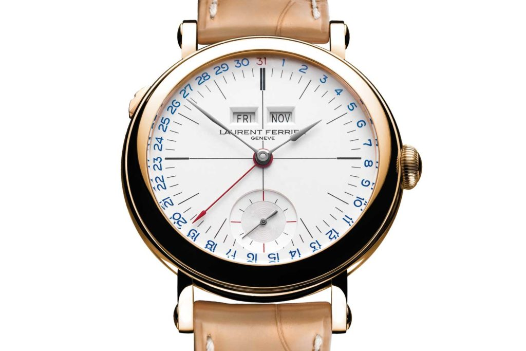 Laurent Ferrier, the Galet Annual Calendar School Piece Opaline White
