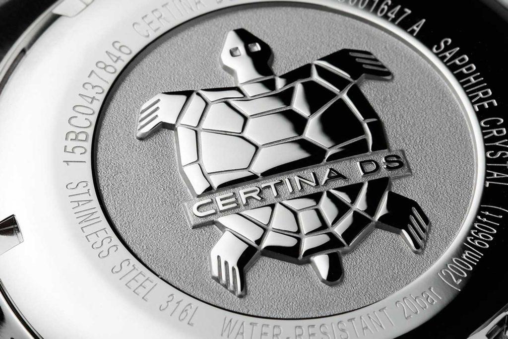 Certina turtle emblem
