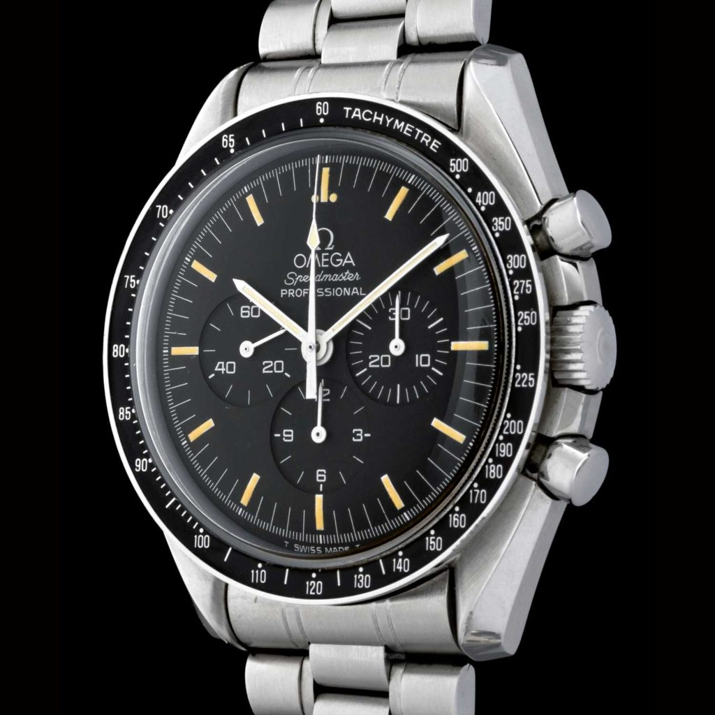Rare Omega Speedmaster with incredible Omani provenance retailed by Joyeria Ricciardi