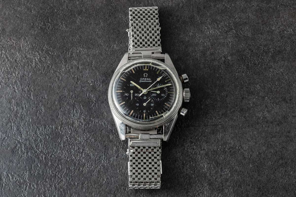 "Apollo 17 astronaut, Eugene ""Gene"" Cernan's Speedmaster ST 105.003 (Image © Revolution)"