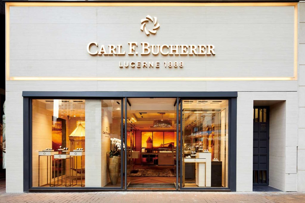 New Carl F. Bucherer boutique in Hong Kong