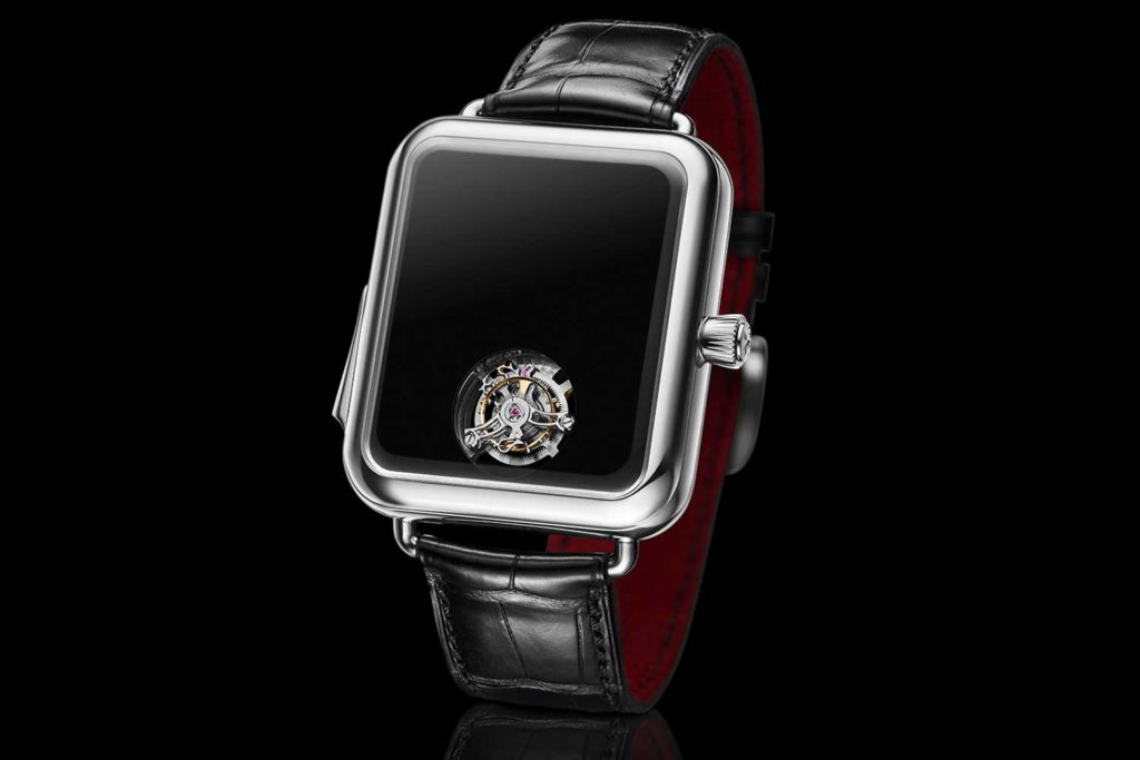 Swiss Alp Watch Concept Black