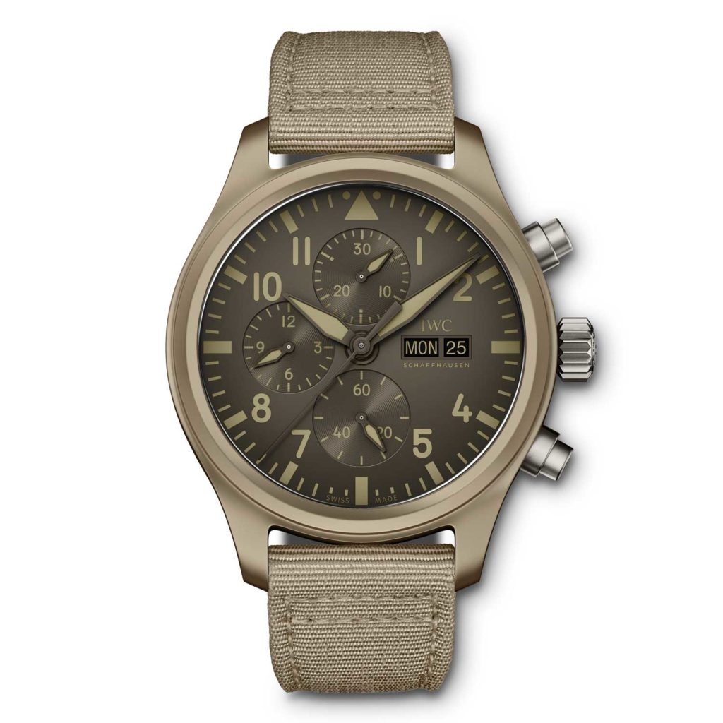 "Pilot's Watch Chronograph TOP GUN Edition ""Mojave Desert"" (Ref. IW389103)"