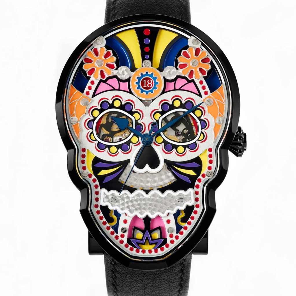 Fiona Krüger Celebration Skull (Black)