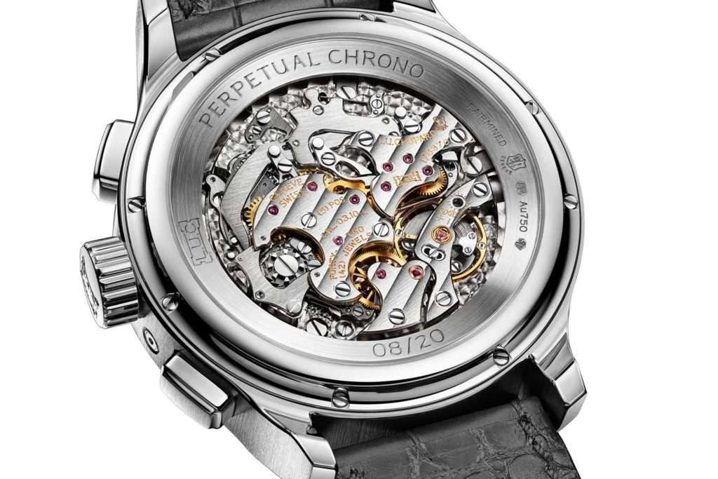 Sketch for Chopard L.U.C Perpetual Chrono caseback