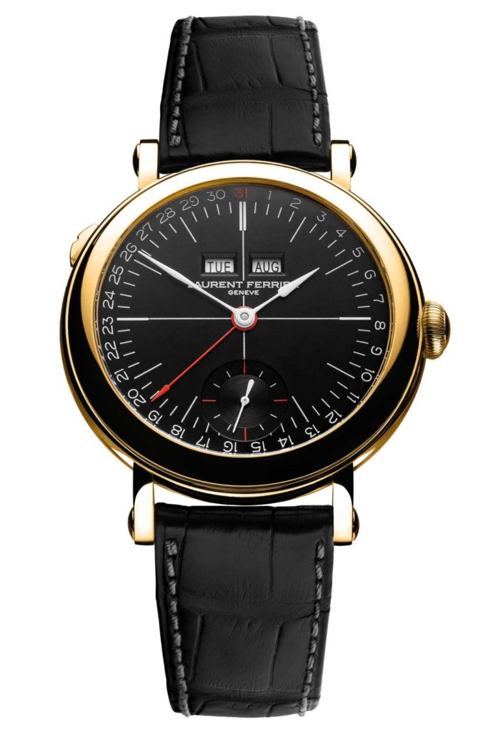 Laurent Ferrier, the Galet Annual Calendar School Piece Opaline Black