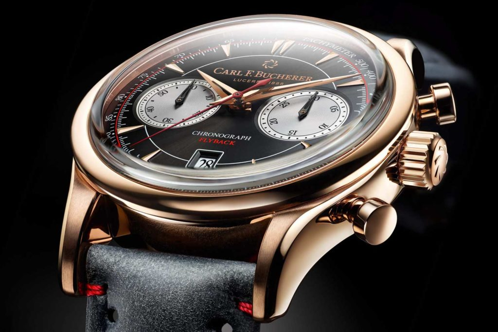 Carl F. Bucherer introduces the new Manero Flyback Chronograph for the coming Baselworld 2019
