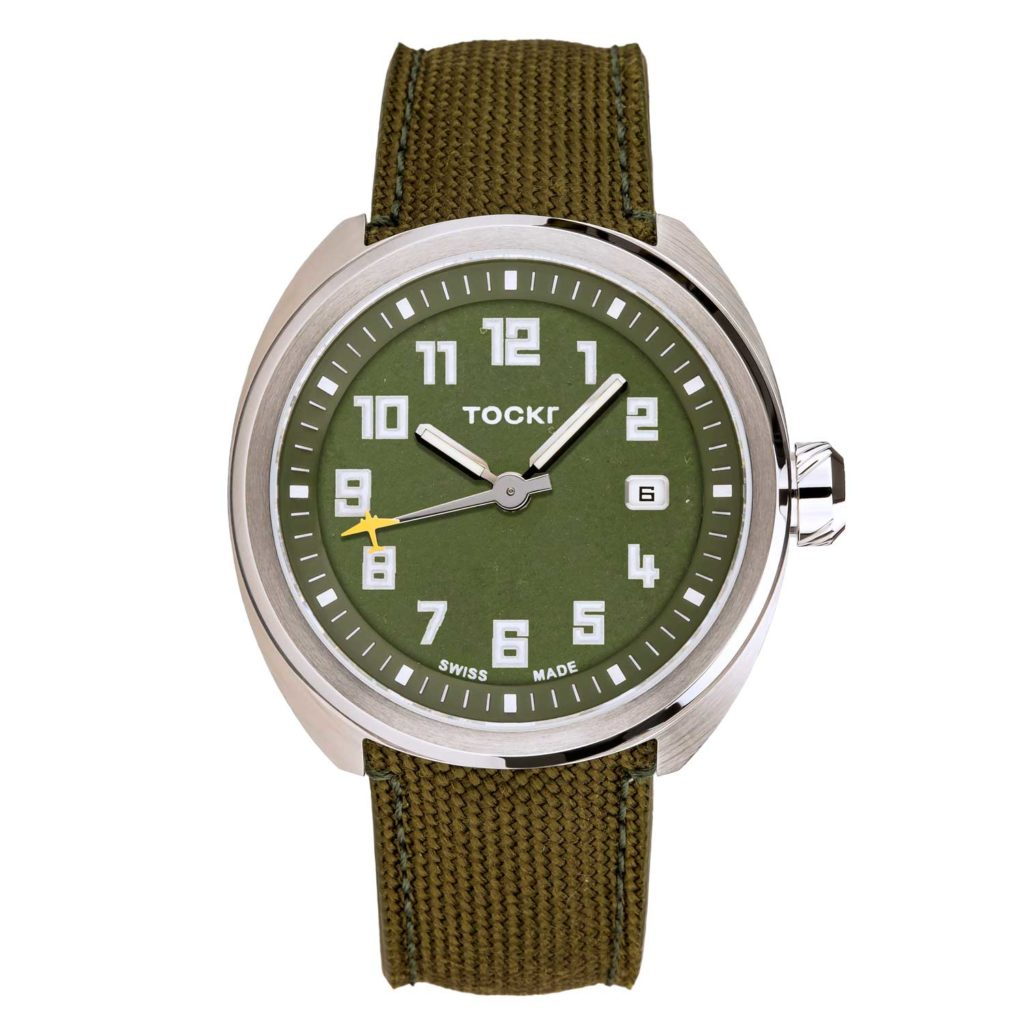 Tockr D-Day C-47 Watch (Clean Cut)