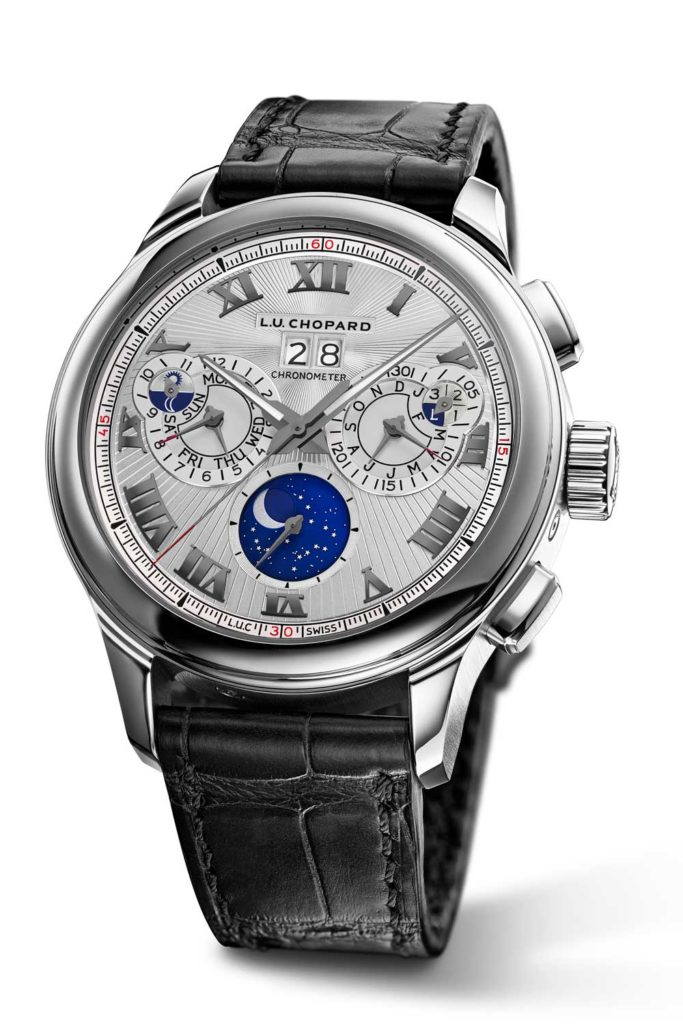 Chopard L.U.C Perpetual Chrono in Fairmined white gold