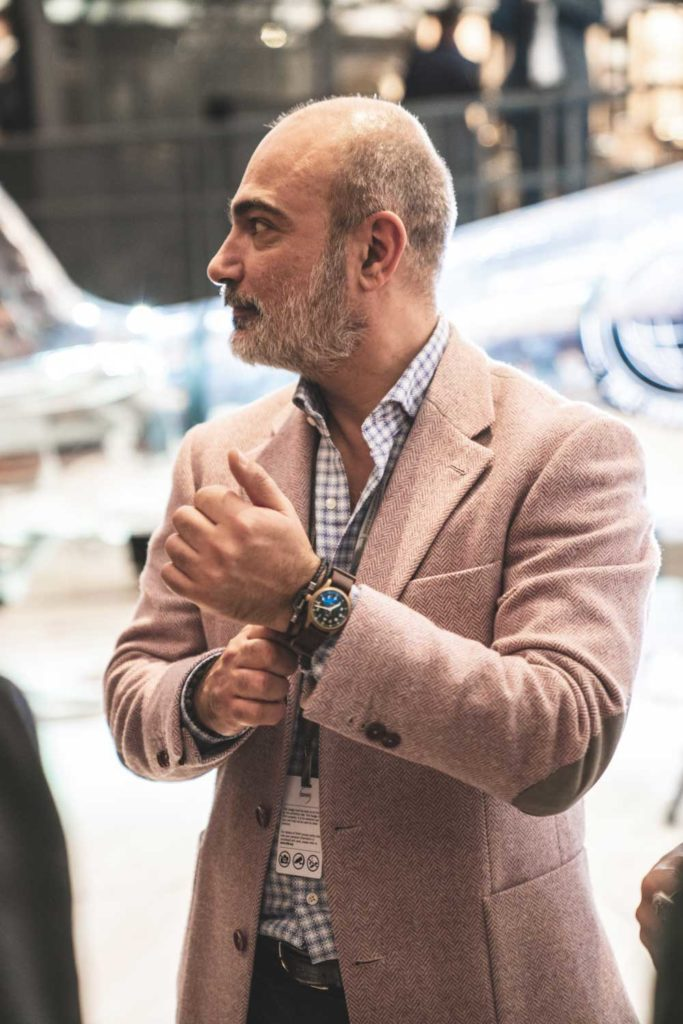 The launch of the new Pilot's Watches from IWC Schaffhausen at the Salon International de la Haute Horlogerie (SIHH) on January 16, 2019 in Geneva, Switzerland (Image © Revolution)
