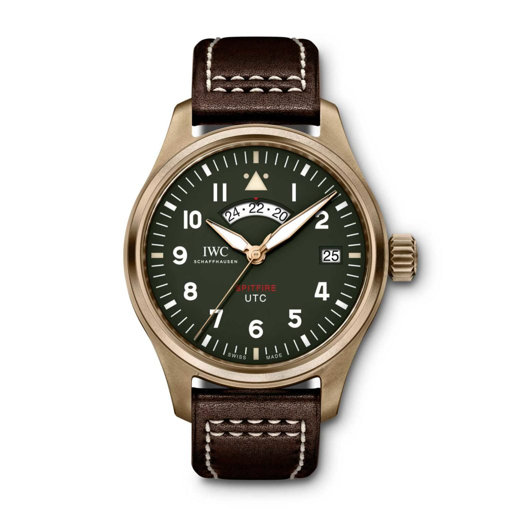 "Pilot's Watch UTC Spitfire Edition ""MJ271"" (Ref. IW327101)"