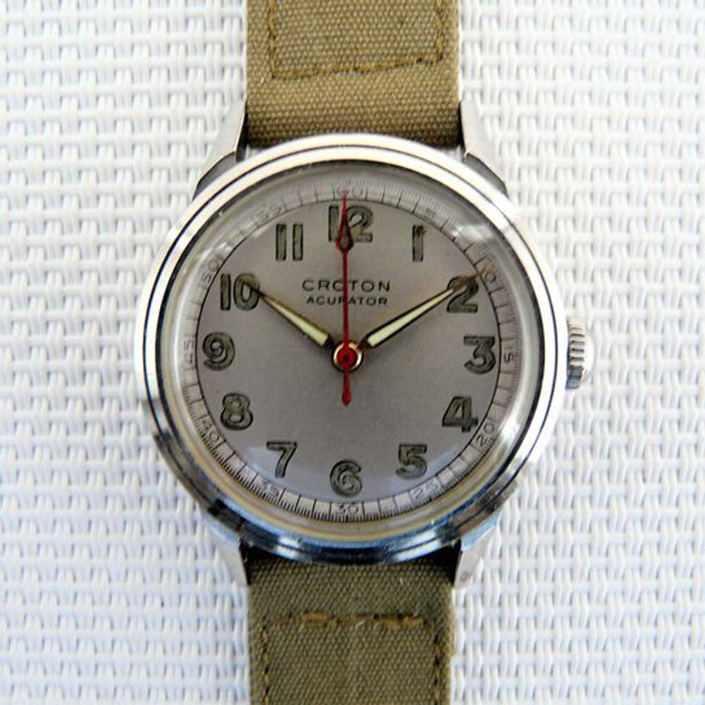 Croton Acurator Medicus field watch (Image: Catawiki)
