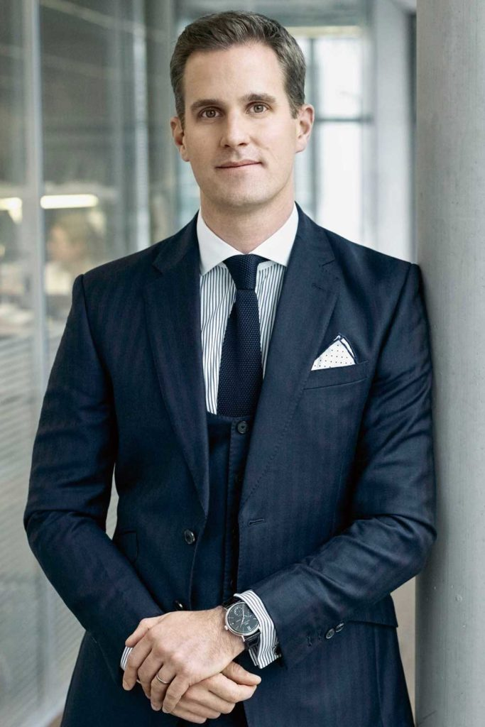 Christoph Grainger-Herr, IWC CEO
