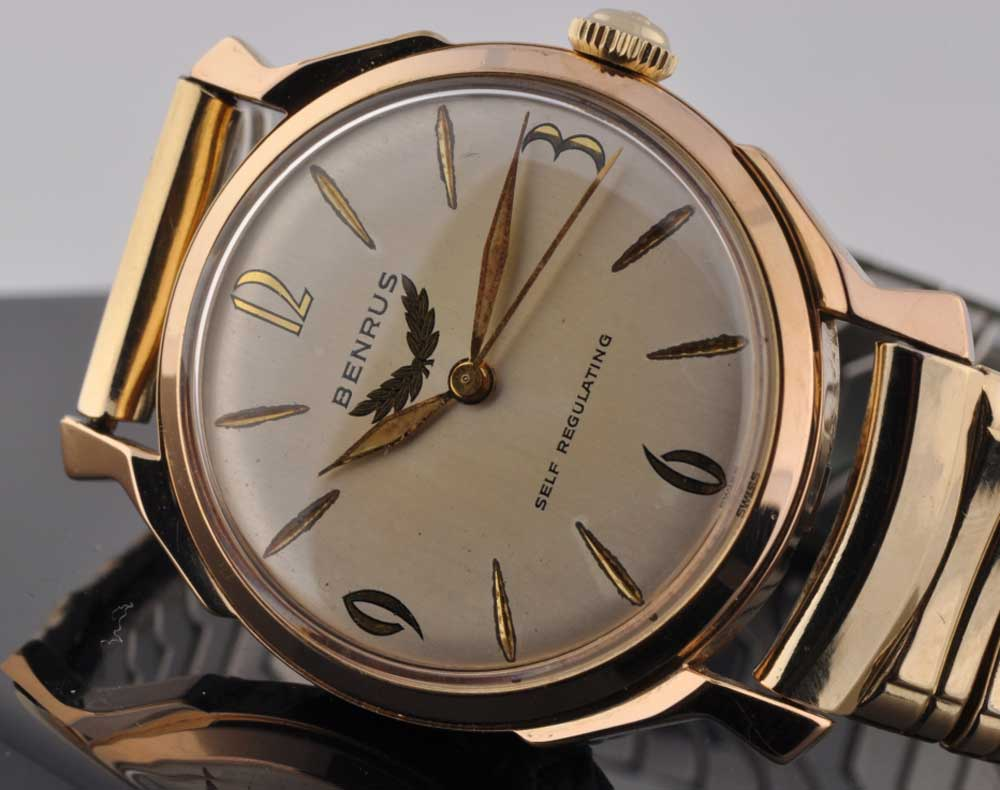 Benrus Self- Regulating automatic watch (Image: watchestobuy.com)