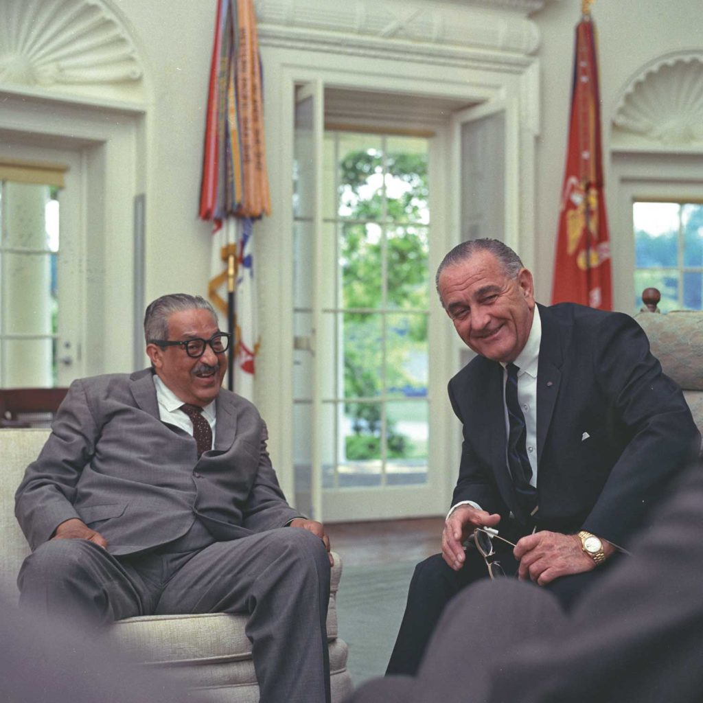 Lyndon B. Johnson was the first US President to wear the Day-Date in office