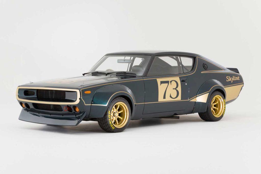 Ancestor of the GT-R50, the 1972 Nissan Skyline 2000 GT-R, custom-built for the 1972 Tokyo Motor Show