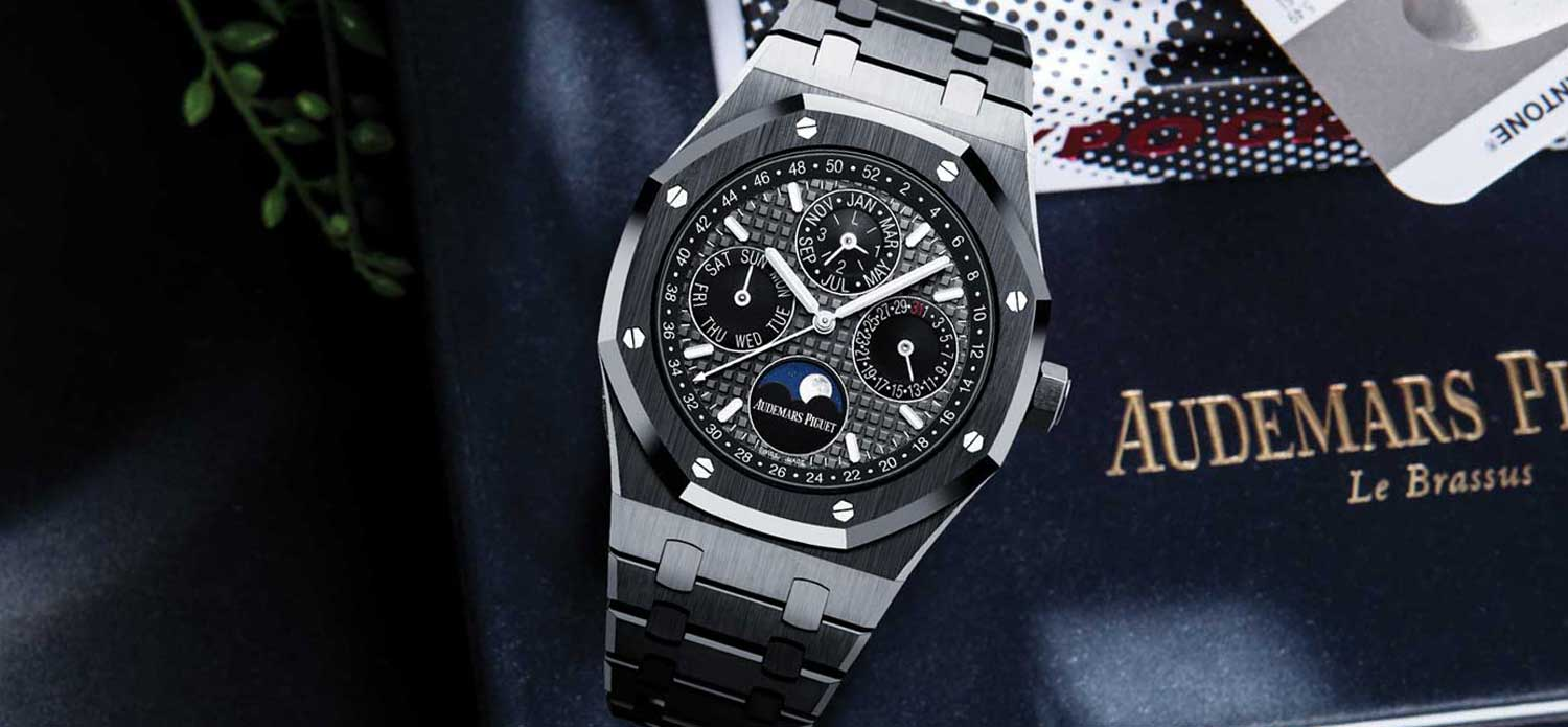Audemars Piguet Royal Oak Black Ceramic Perpetual Calendar (Image © Revolution)