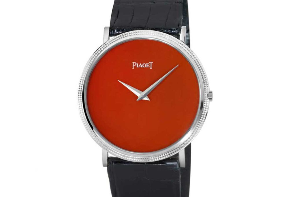 Coral dial ultra-thin