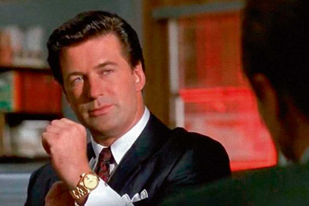 Alec Baldwin as Blake in Glengarry Glen Ross