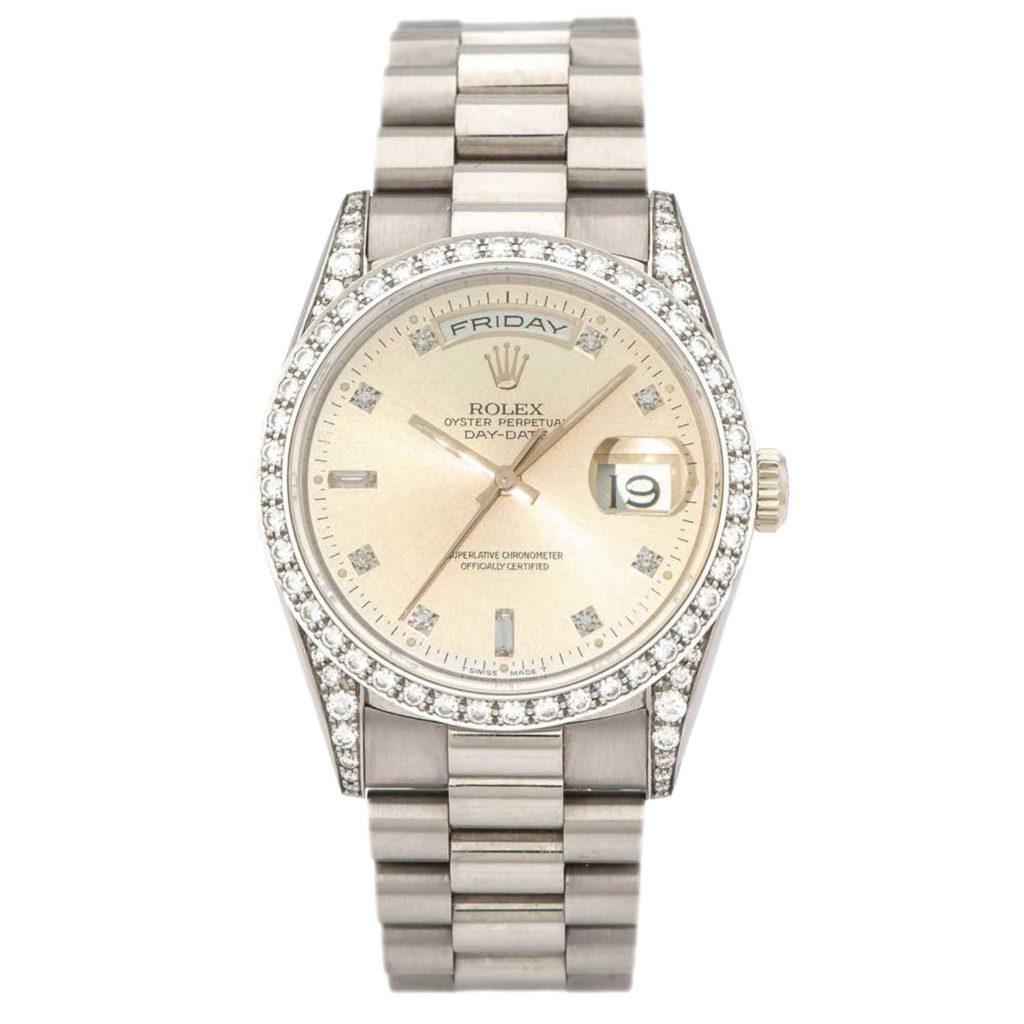 Day-Date ref. 18389 Diamond-set