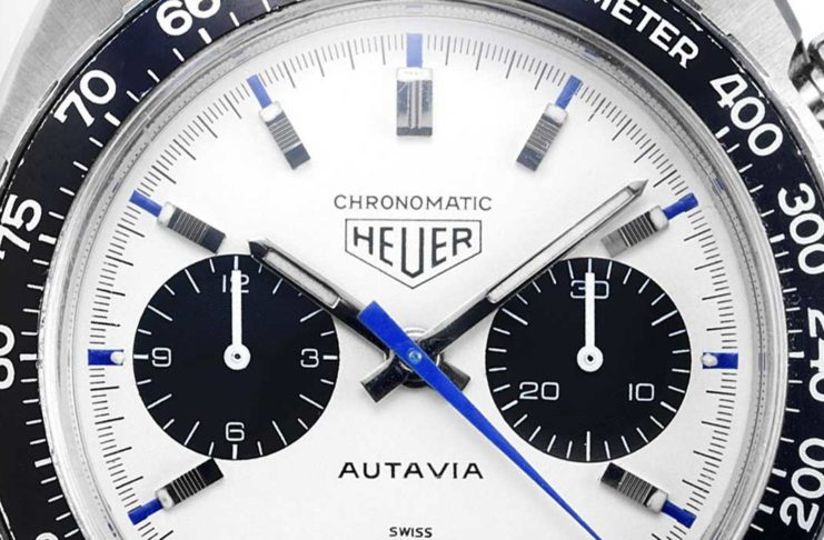 Autavia 'Siffert' Chronomatic Ref. 1163T powered by the Chronomatic automatic, calibre 11