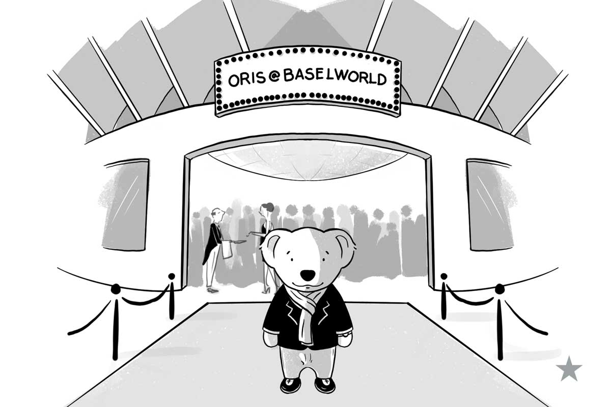 The Oris Bear at Baselworld 2018 (© Revolution)