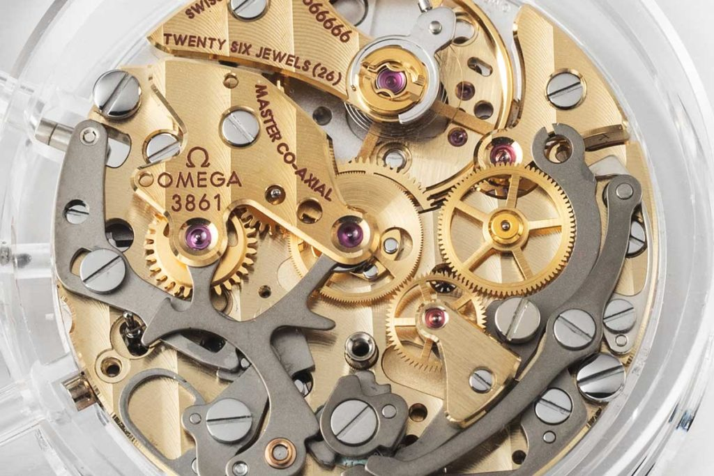 The 2019 Master Chronometer certified Omega Calibre 861 (© Revolution)