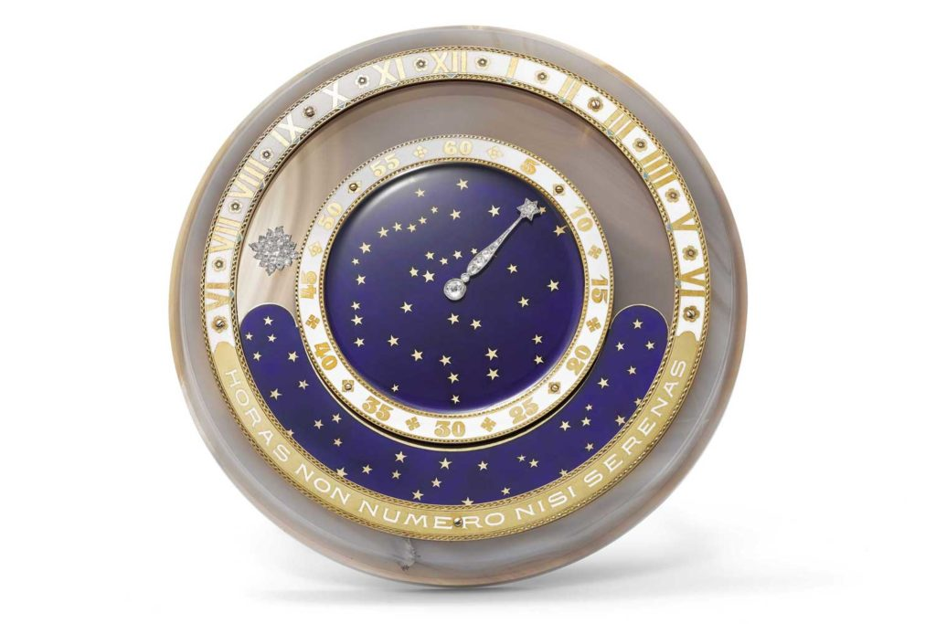 1920 Day and Night Comet Clock made by Coüet (Nils Herrmann, Cartier Collection © Cartier)