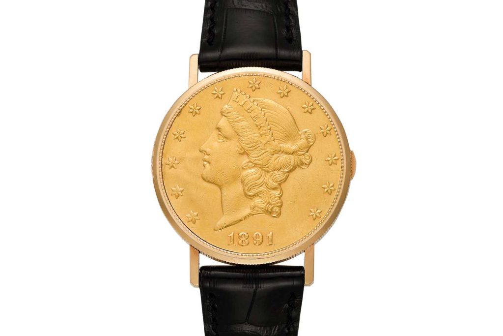 Lot 78: Vacheron Constantin Ref. 6510 US Dollar Coin Watch
