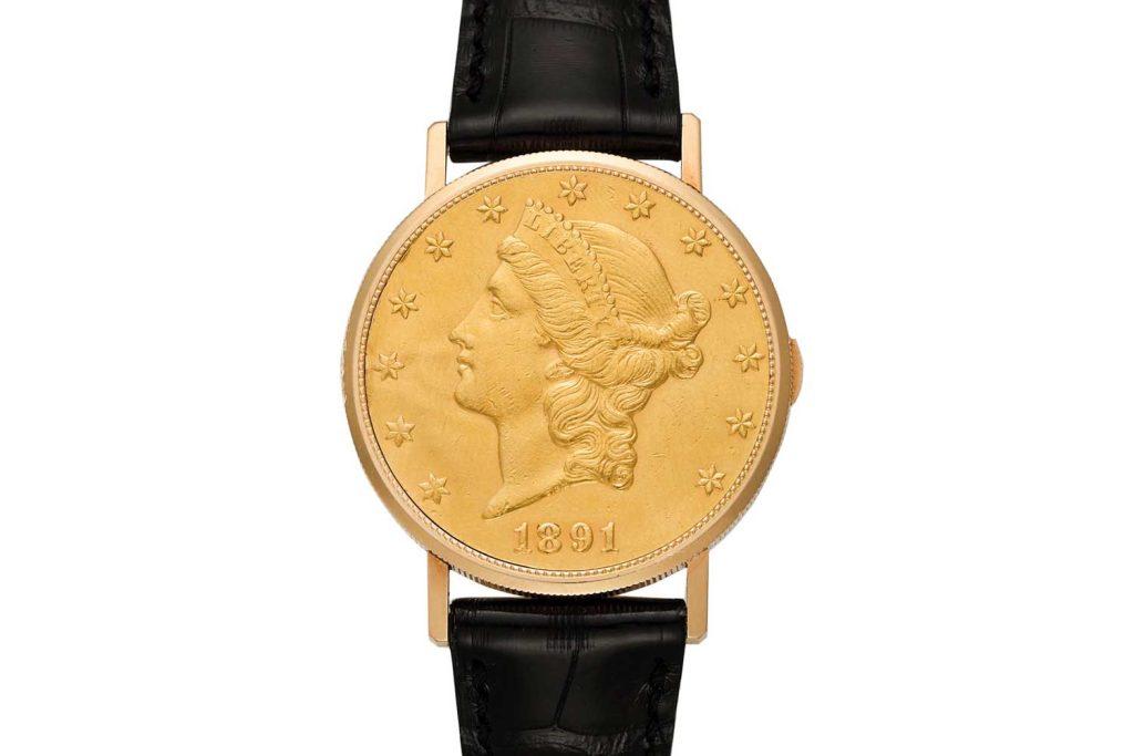 Lot 78: Vacheron Constantin Ref. 6510 US Dollar Coin Watch