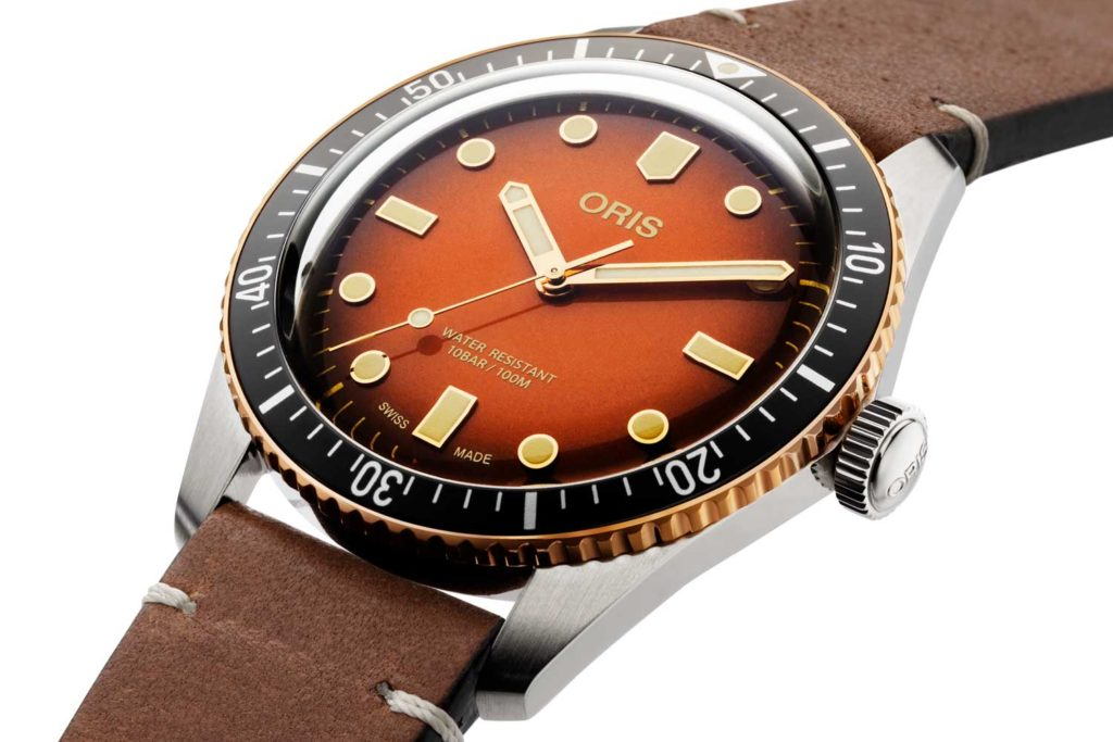 The burnt honey dial colour is reminiscent of tropical dials (Image © Revolution)