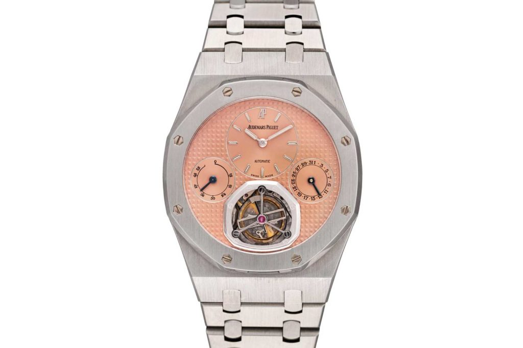 LOT 77: Audemars Piguet Ref. 25831ST Royal Oak Automatique Tourbillon
