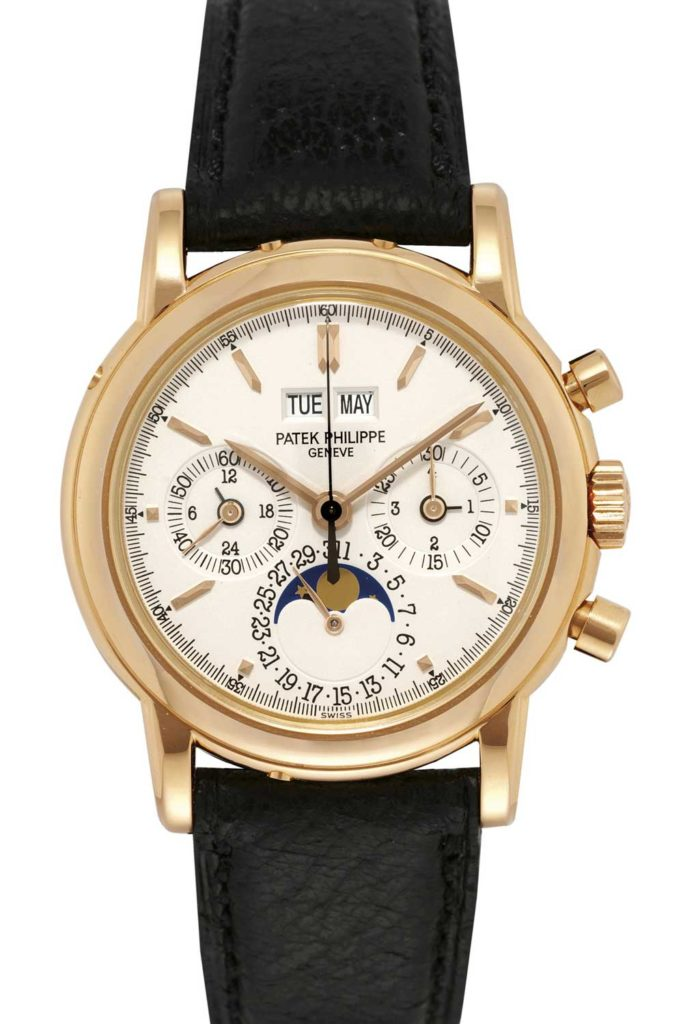 Ref. 3970 (standard dial, without tachymeter)