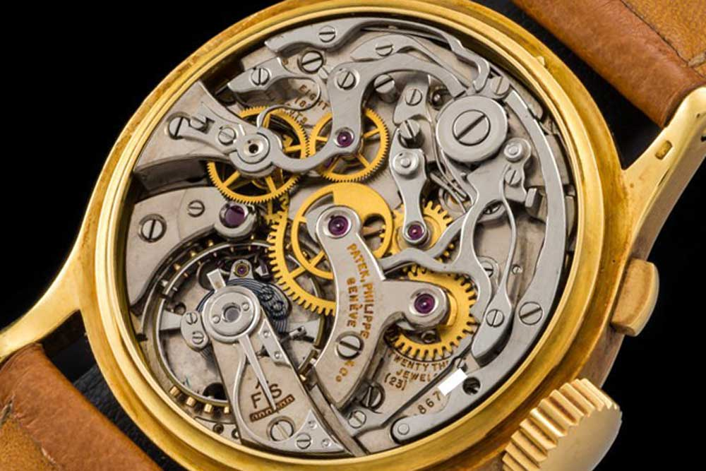 Movement driving the ref. 1518 (image: www.onlyvintage.com)