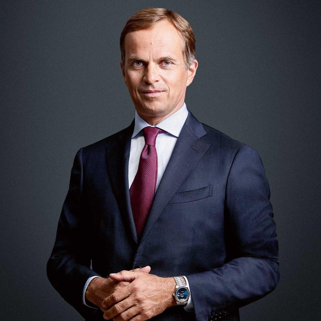Jean-Frédéric Dufour, CEO Rolex