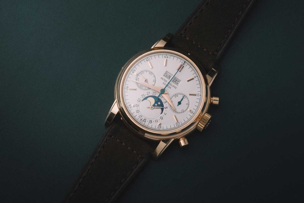 Ref. 2499 in rose gold, third series (image: Phillips)