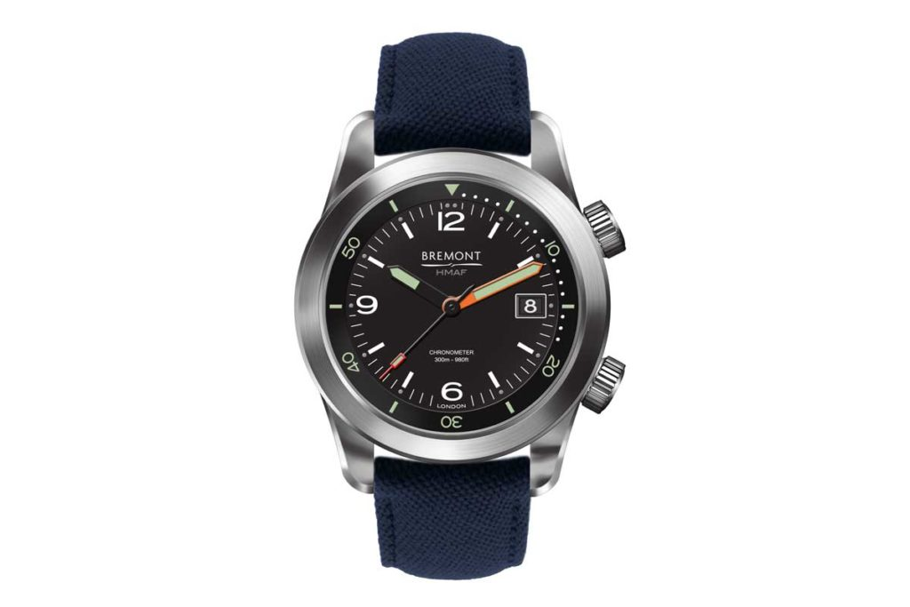 The Bremont Argonaut rated to 300m