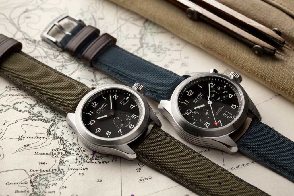 "The Bremont Broardsword, inspired by the ""Dirty Dozen"" watches and the Arrow, a monopusher chronograph"