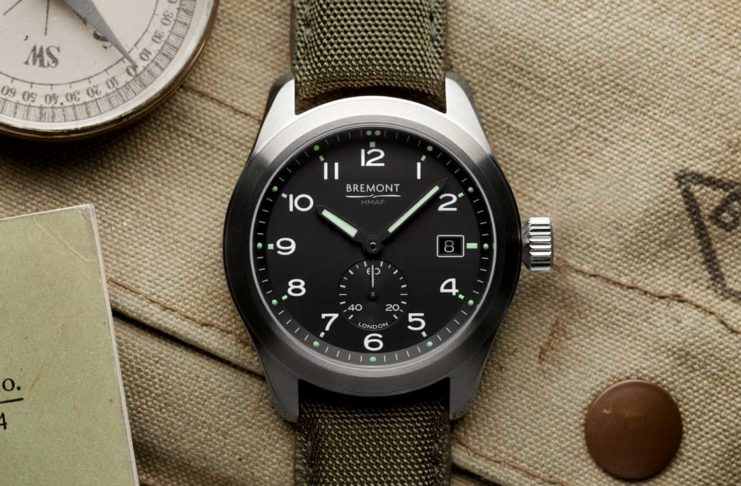 "The Bremont Broardsword, inspired by the ""Dirty Dozen"" watches"