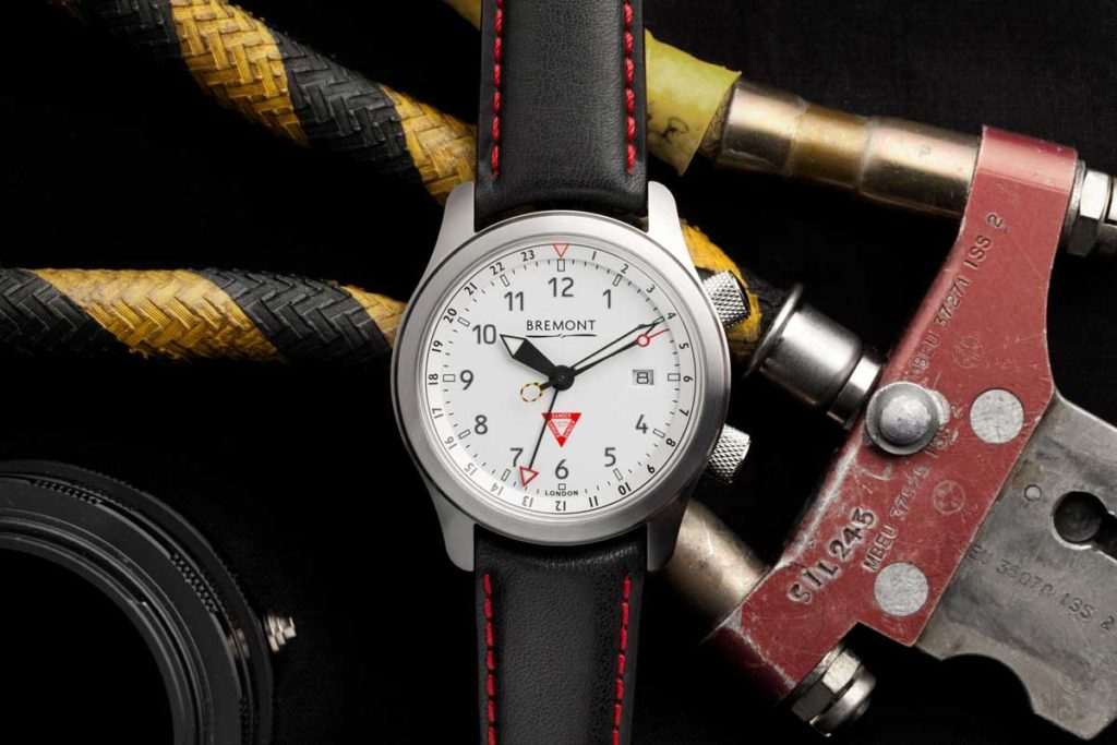 New for 2019, Martin-Baker timepiece celebrating the decade long partnership with Bremont