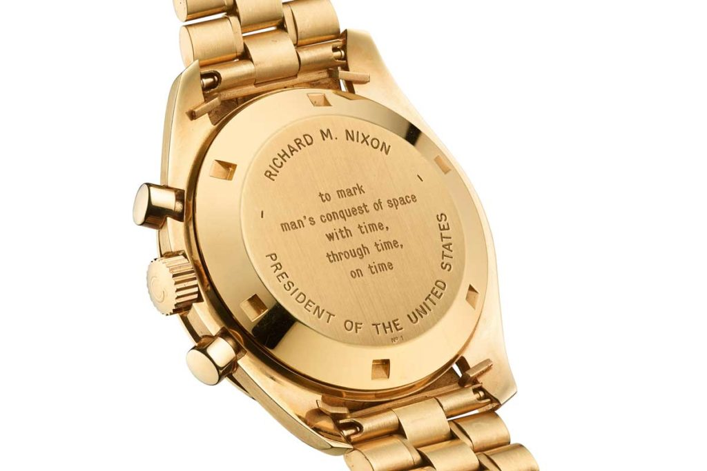 Number 1 of 1014, the Omega 145.022 that was intended for President Richard Nixon