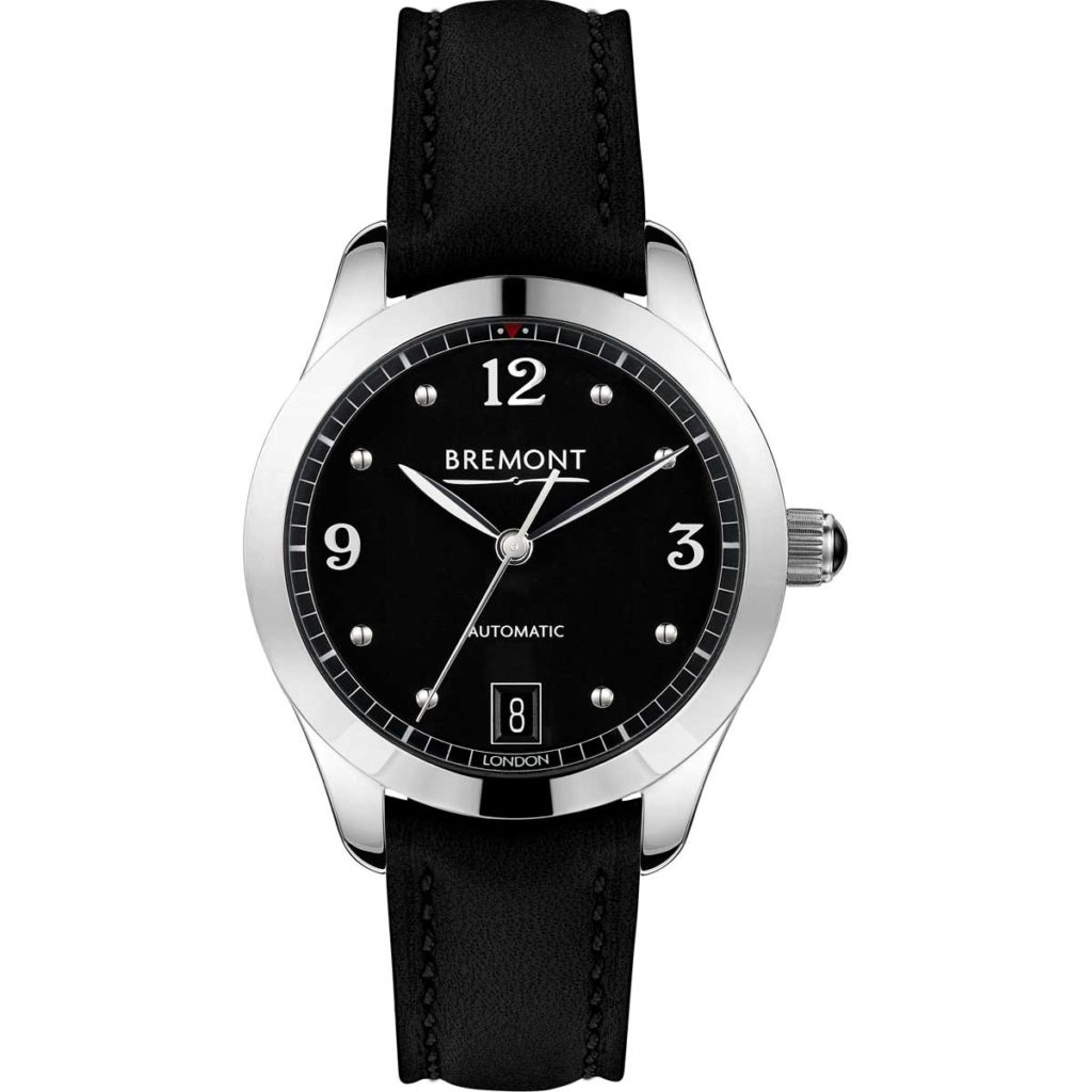 The black dial Bremont SOLO 34