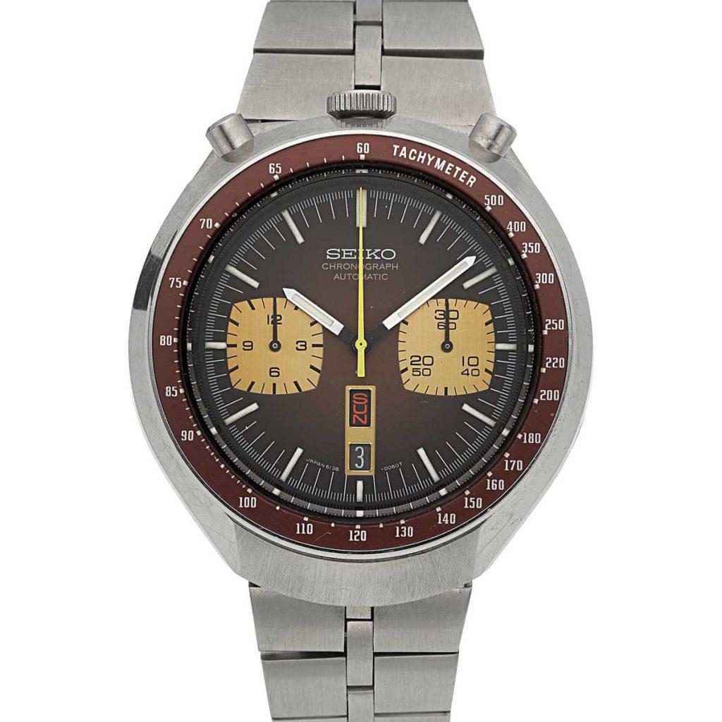 Seiko Bullhead chronograph ref. 6138 (image: Heritage Auctions, HA.com)