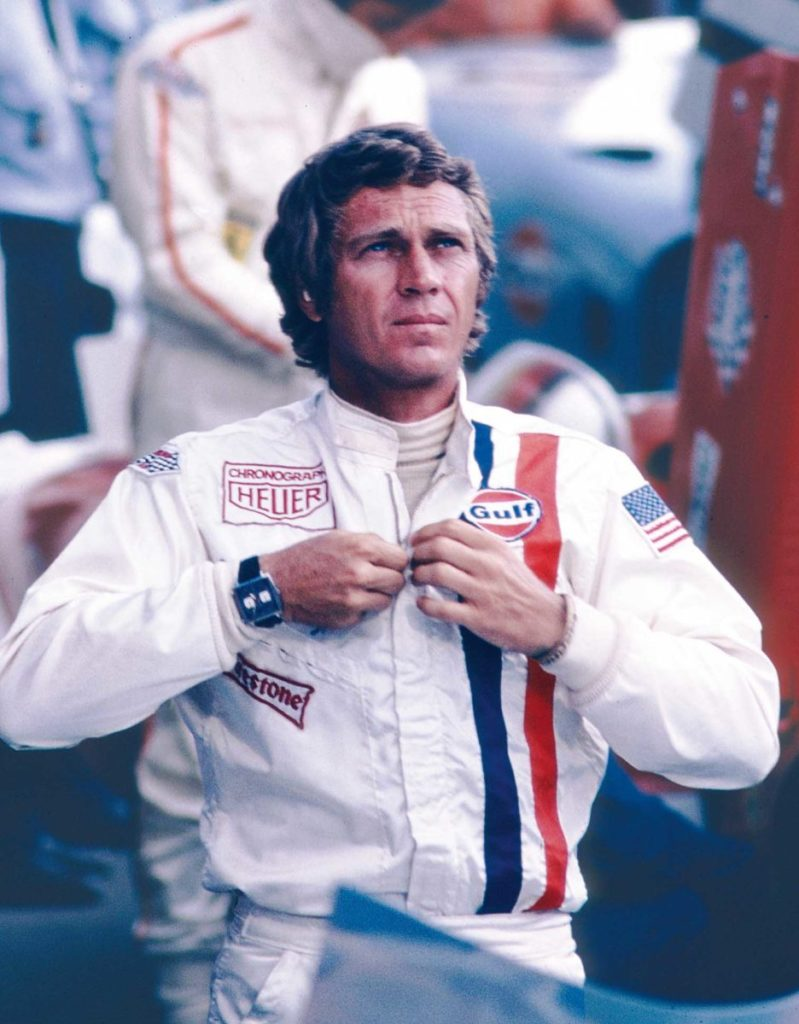 Steve McQueen in the movie Le Mans 1971)