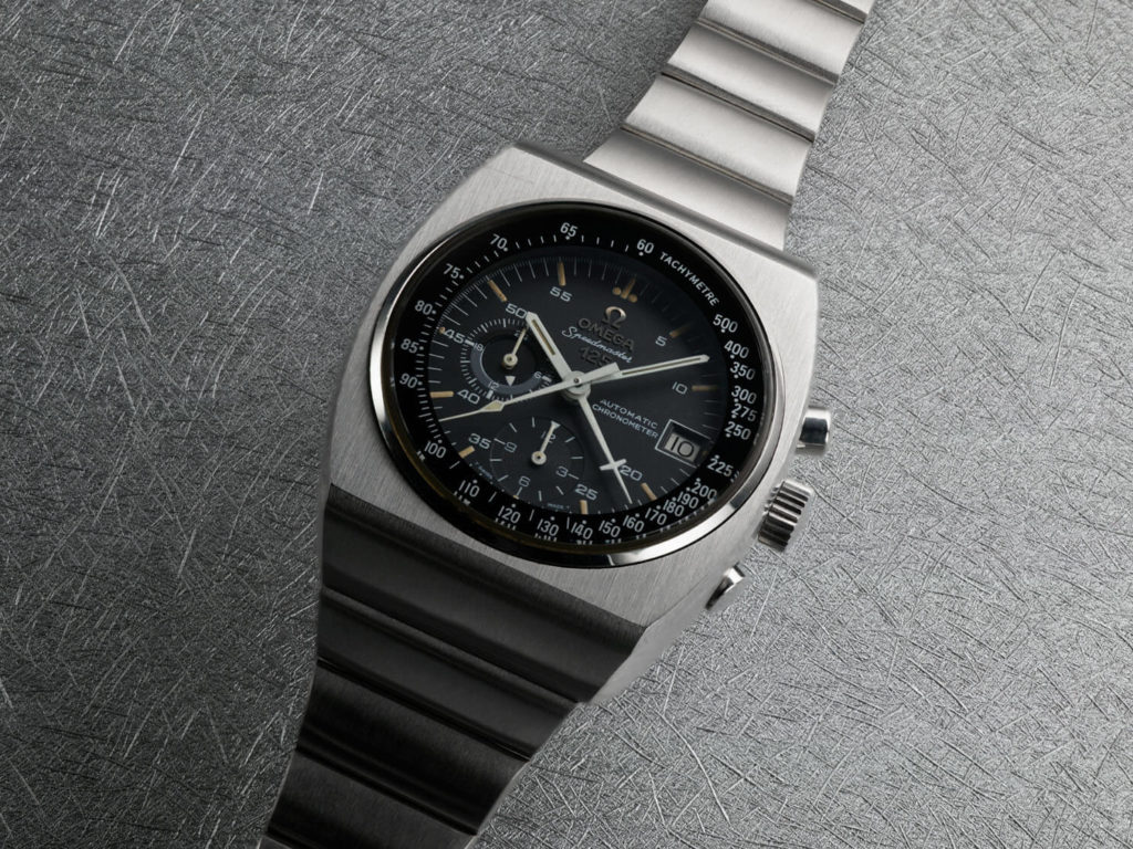 Omega Speedmaster 125 powered by the chronometer-grade cal. 1041, making it the first automatic chronograph chronometer. (Image: Omega)